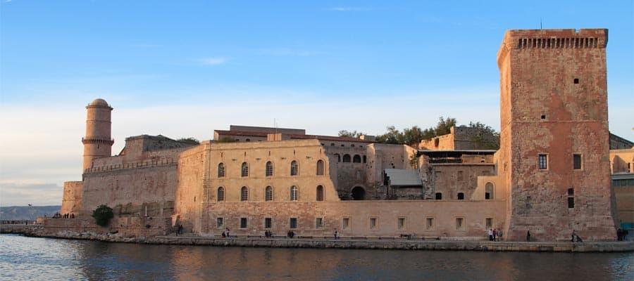 Crucero a Marsella, Francia en Provenza