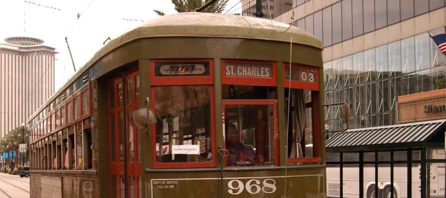 Tranvía en Nueva Orleans