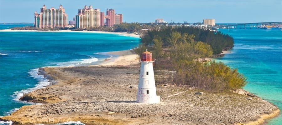 Paisajes fascinantes en Nassau, Bahamas