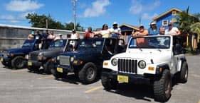 Aventura en jeep y playa