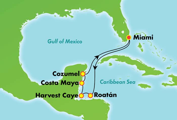 Norwegian Escape al Caribe oriental