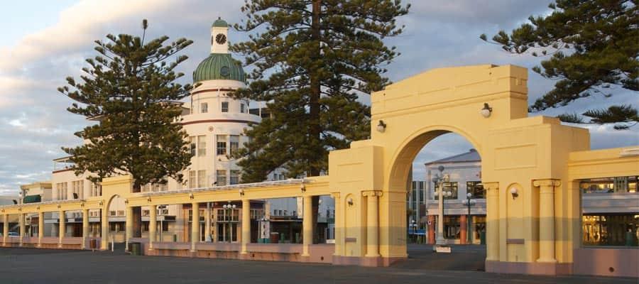 Arquitectura art decó en cruceros a Napier
