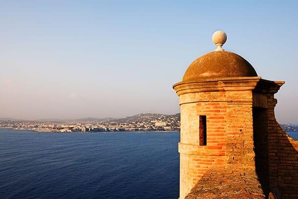 Crucero a Ile Saint-Marguerite, Francia