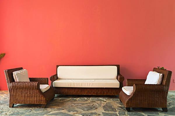 Muebles de patio caribeños