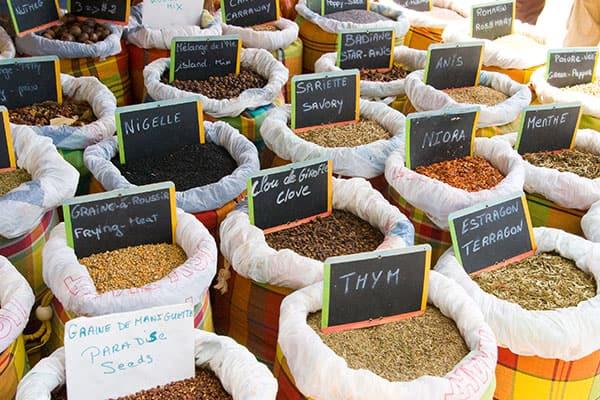 Delicias culinarias y especias