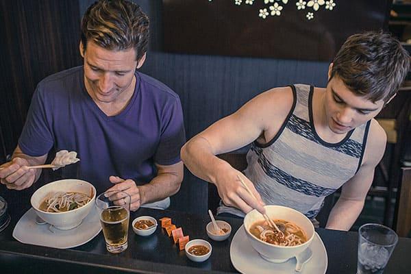 Prueba el restaurante asiático en tu crucero