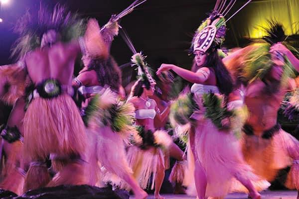 Luau en el Centro Cultural Polinesio