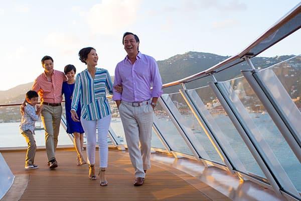 Cómo planificar una reunión familiar en alta mar