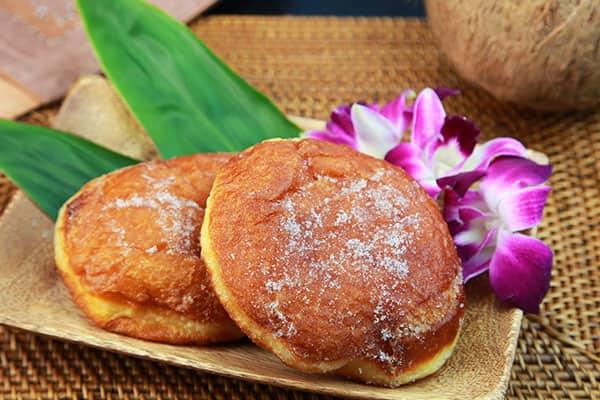 Comida deliciosa en Hawái