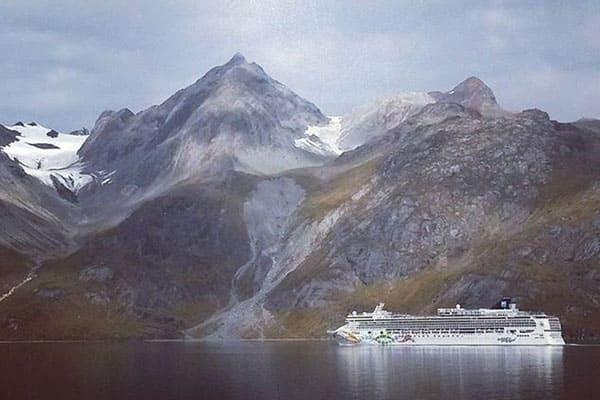 Vistas espectaculares en un crucero por Alaska