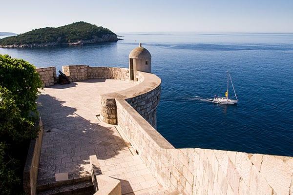 El Muro de Game of Thrones en Dubrovnik, Croacia