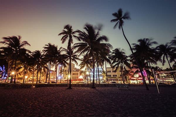 Ocean Drive de Dexter y CSI en Miami