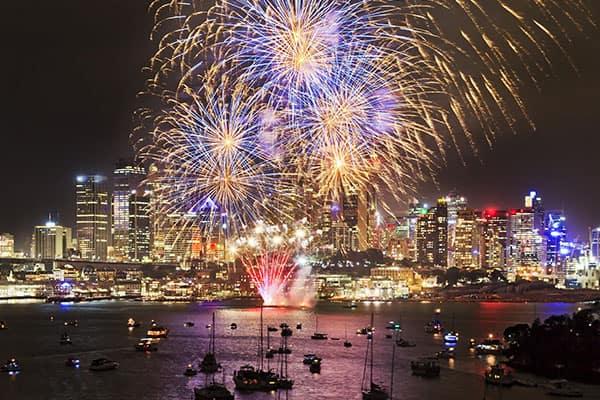 Año Nuevo en Australia