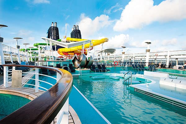 Europa en el Norwegian Epic