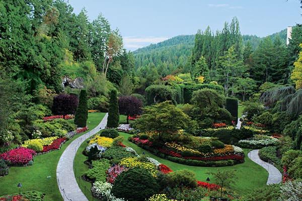 Tours de los jardines Butchart