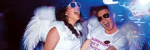 Puedes llenarte de energía en la White Hot Party