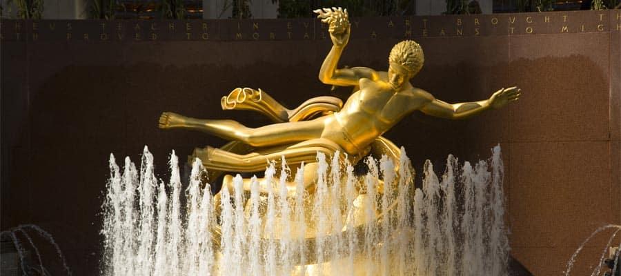 Visita el Rockefeller Center en tu crucero a Nueva York