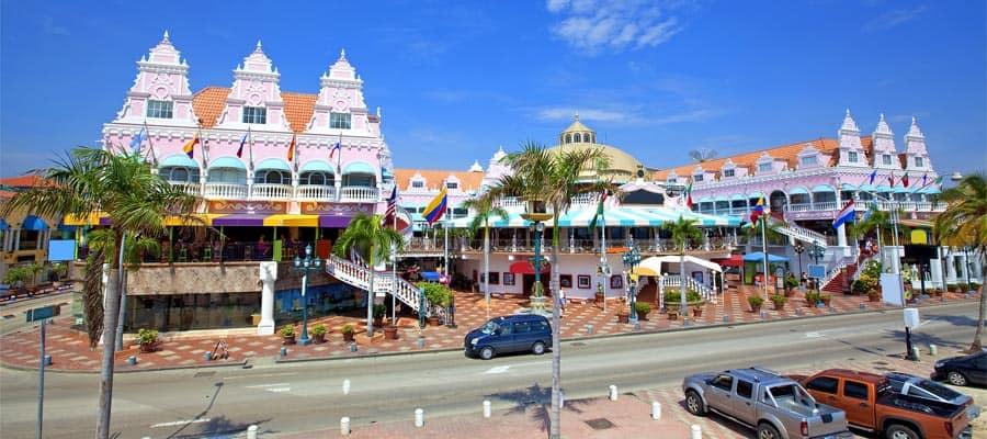 Viaja en un crucero por el Caribe y sal de compras en Oranjestad