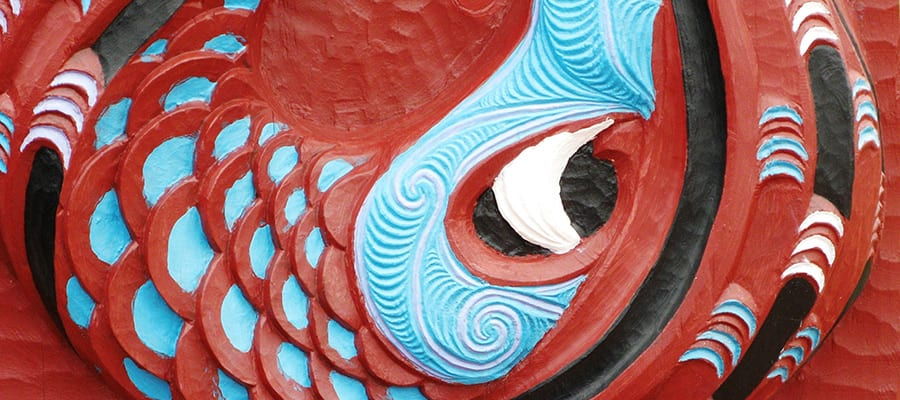 Arte maorí tradicional en cruceros a Dunedin