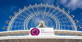 Combo de Orlando Eye, acuario Sea-Life y Museo de Madame Tussaud