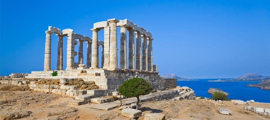 Viaja en crucero por Europa y conoce el Templo de Poseidón