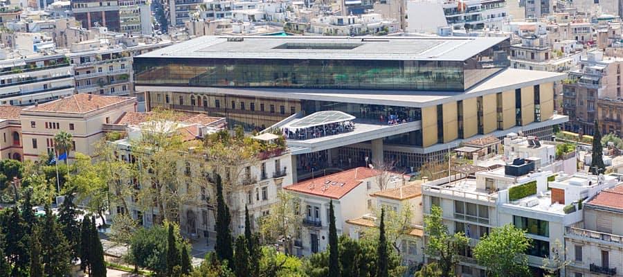 Museo de la Acrópolis en tu crucero por Europa