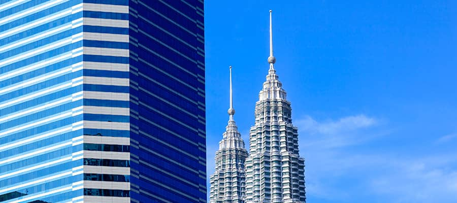 Torres Petronas en Puerto Klang