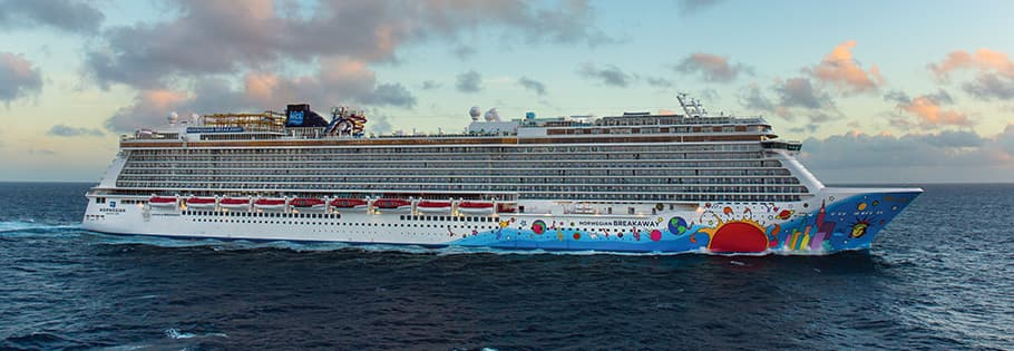 Crucero por el Caribe occidental en el Norwegian Breakaway