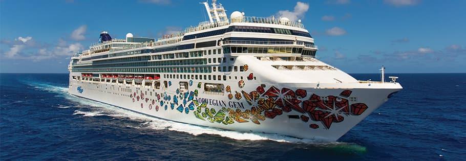 Caribe oriental en el Norwegian Gem