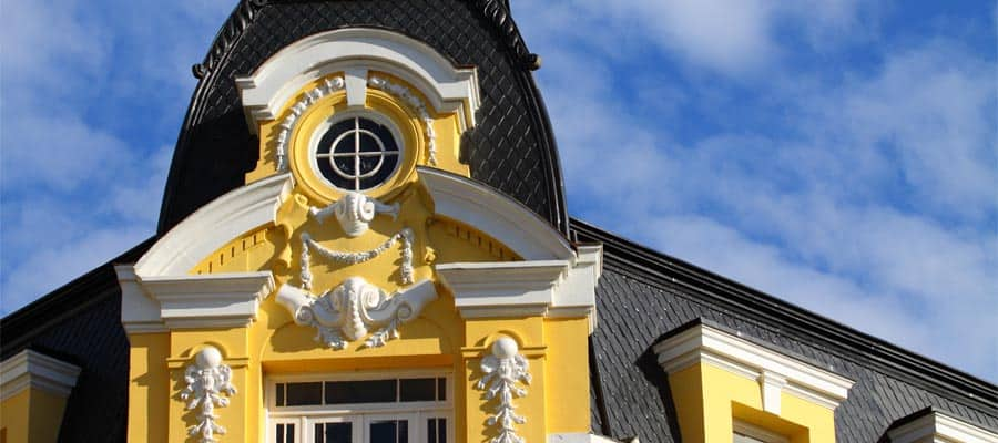 Edificio oficial en Punta Arenas
