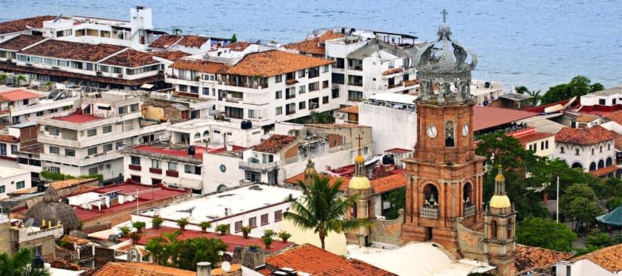 Puerto Vallarta en tu crucero por la Riviera Mexicana