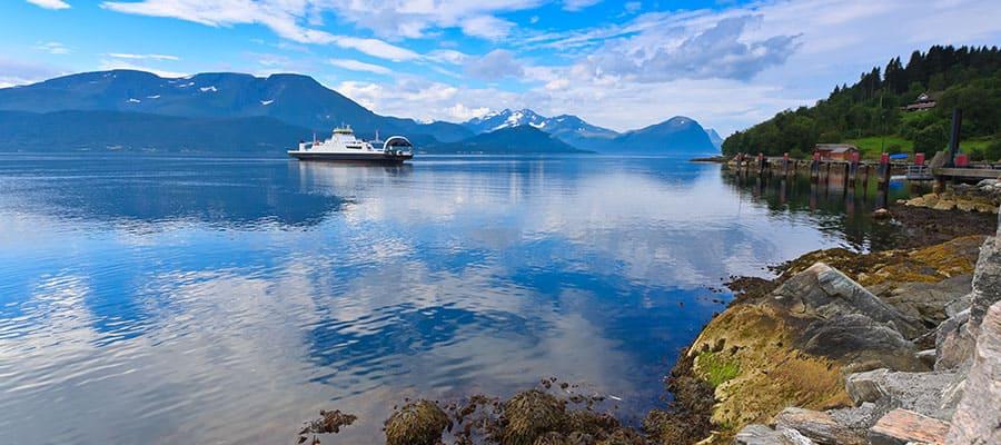 Días tranquilos en cruceros a Alesund