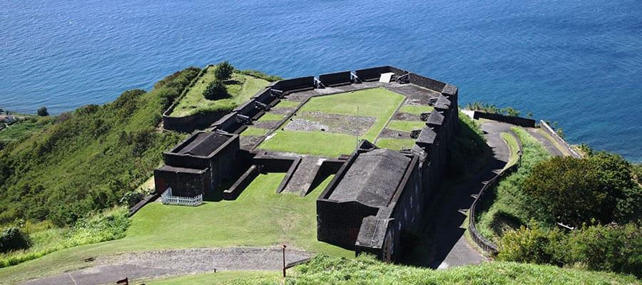 Viaja al Fuerte Brimstone Hill en St. Kitts