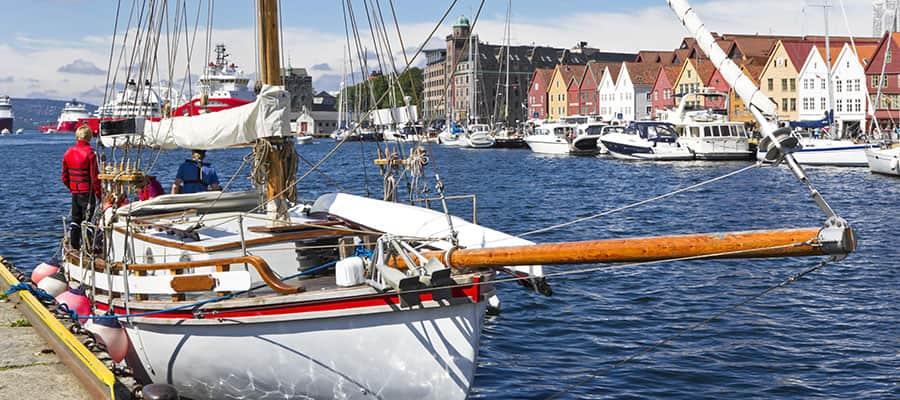 Puerto de Bergen en tu crucero por Europa