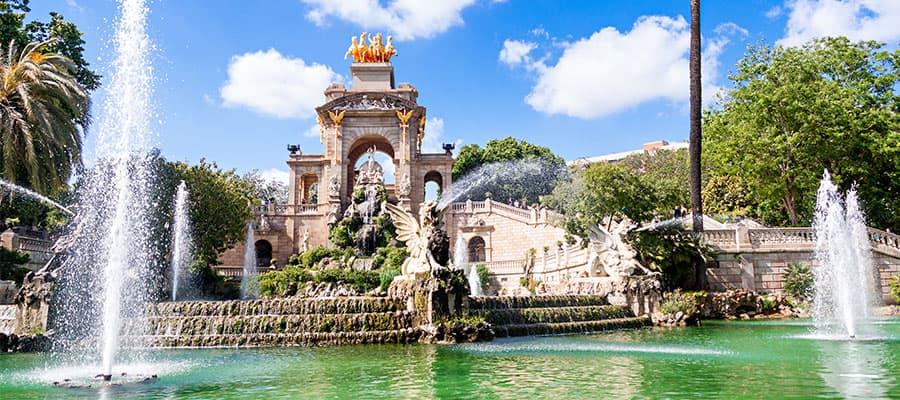 Visita el Parc de la Ciutadella en tu crucero por Europa