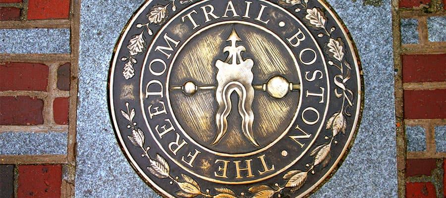Camina por el Freedom Trail en tu crucero a Boston
