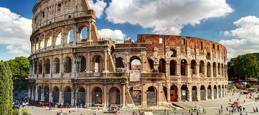El Coliseo en tu crucero por Roma