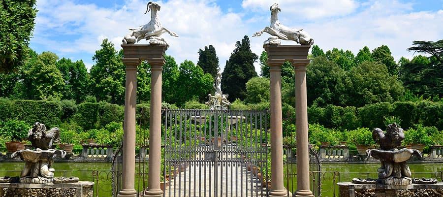Jardín de Bóboli en tu crucero por Europa