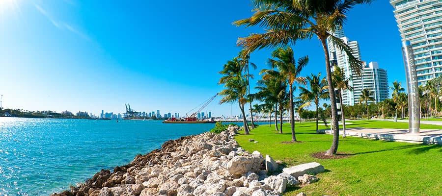 Bellos días en tu crucero por Miami