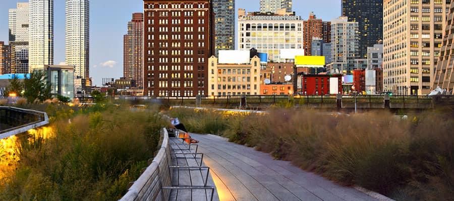 Visita High Line Park en tu crucero a NYC