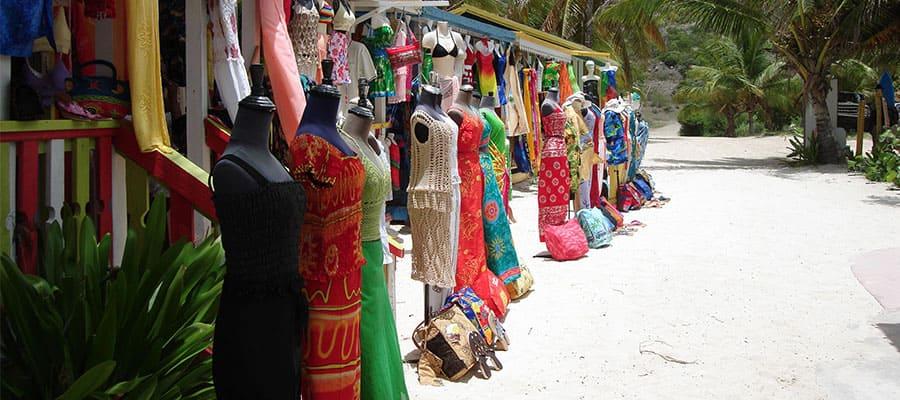 Sal de compras en tu crucero por el Caribe
