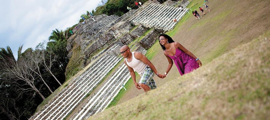 Recorre las ruinas de Altun Ha en tu crucero en el Caribe