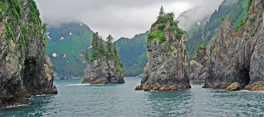 Seward en tu crucero por Alaska