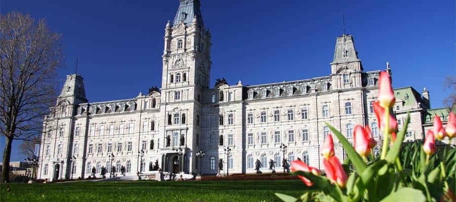 Visita el edificio del Parlamento de Quebec en tu crucero desde Quebec