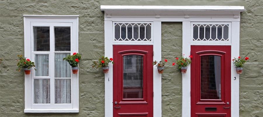 Casas pintorescas en Quebec