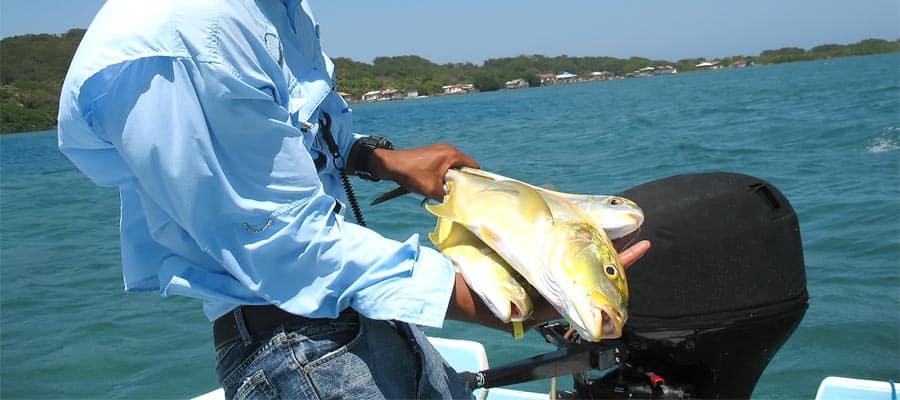 Pesca durante tu crucero a Roatán