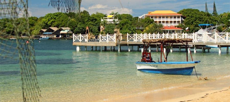 Playas hermosas en tus vacaciones en Roatán