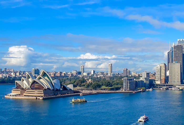 Crucero de reposicionamiento desde Sídney o Auckland