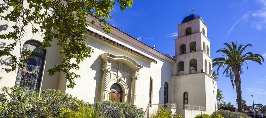 Parte vieja de San Diego