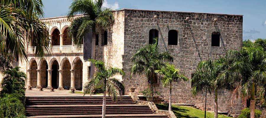Alcázar de Colón en tu crucero por el Caribe